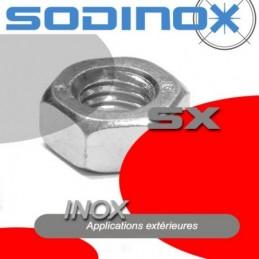 Ecrou long inox DIN 6334